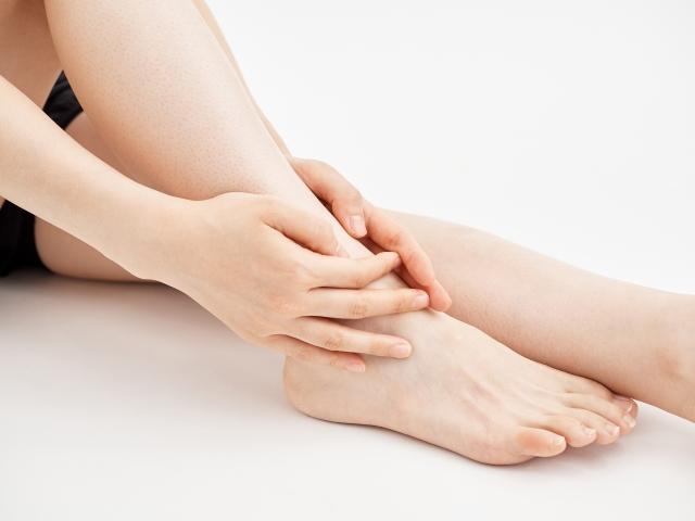 足関節捻挫の画像